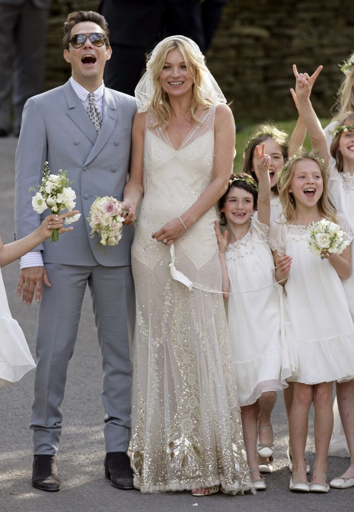 Blake Lively's Wedding Dress Was Marchesa, Not Chanel