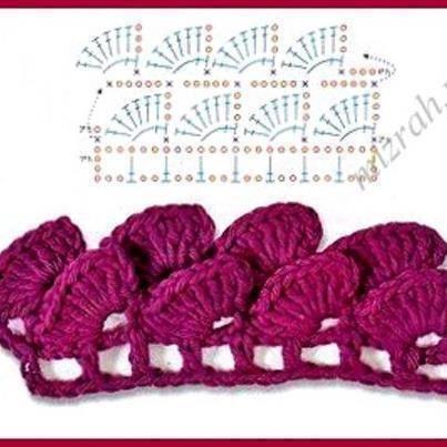 chart Fabyta tejidos crochet\'s photo. | crochet technieken ...