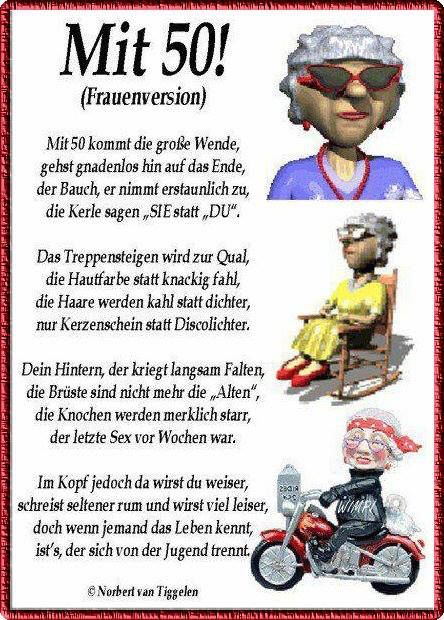 Geburtstag Geburtstag Lustig Spruche Zum 50