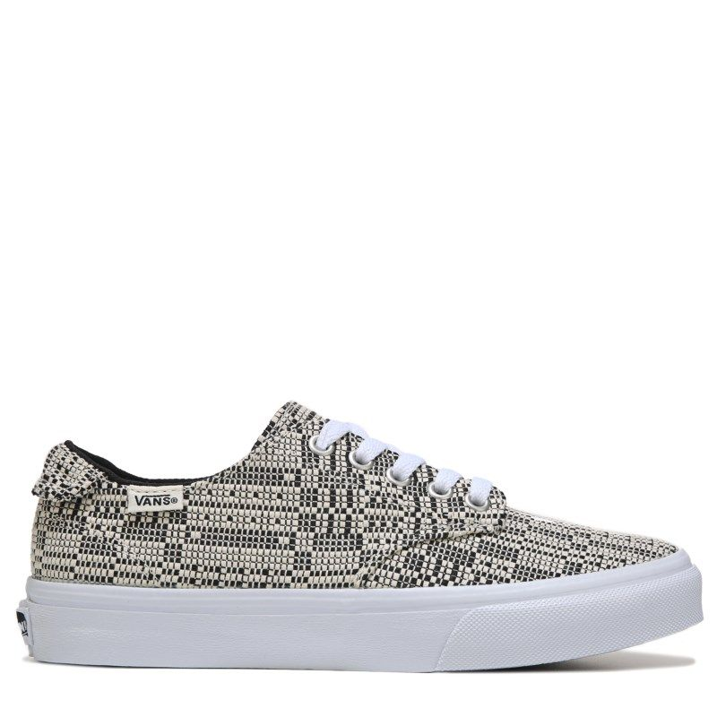 Vans Women's Camden Deluxe Ultra Cush Sneakers (Black White) - 10.0 M
