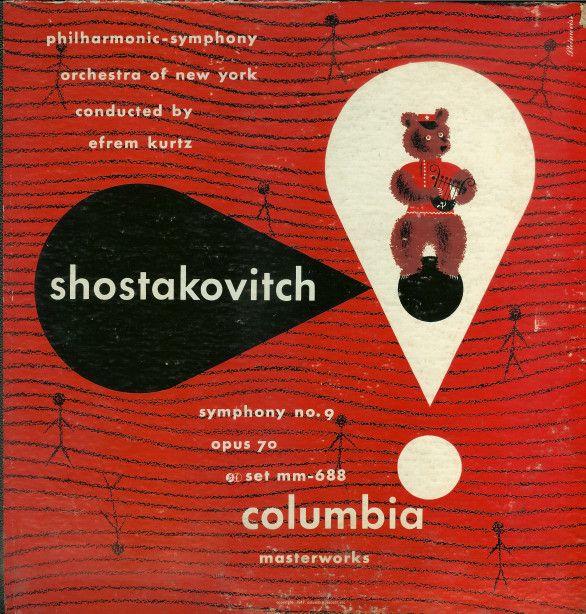 Alex Steinweiss. - Shostakovitch
