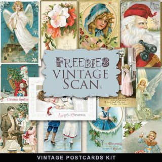 Freebies Postales Vintage