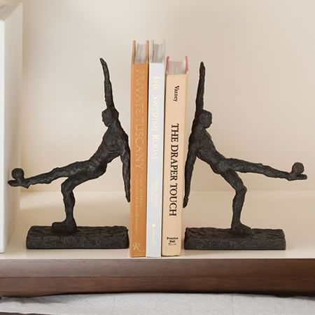 Modern Soccer Player Bookends images