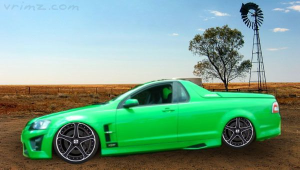 Matte Black Ford Falcon Ute Aussie Muscle Cars Australian