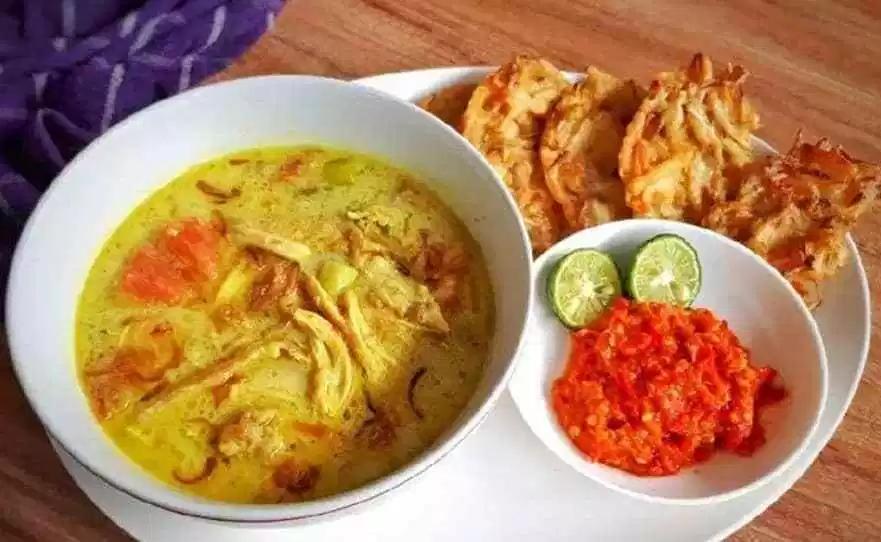 Resep Soto Ayam Santan Resep Resep Makanan Sehat Masakan