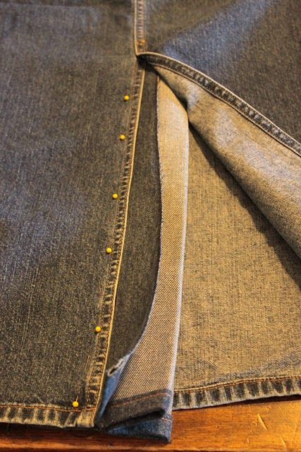 how to add a kick pleat to a skirt | sewing | Pinterest | Nähen