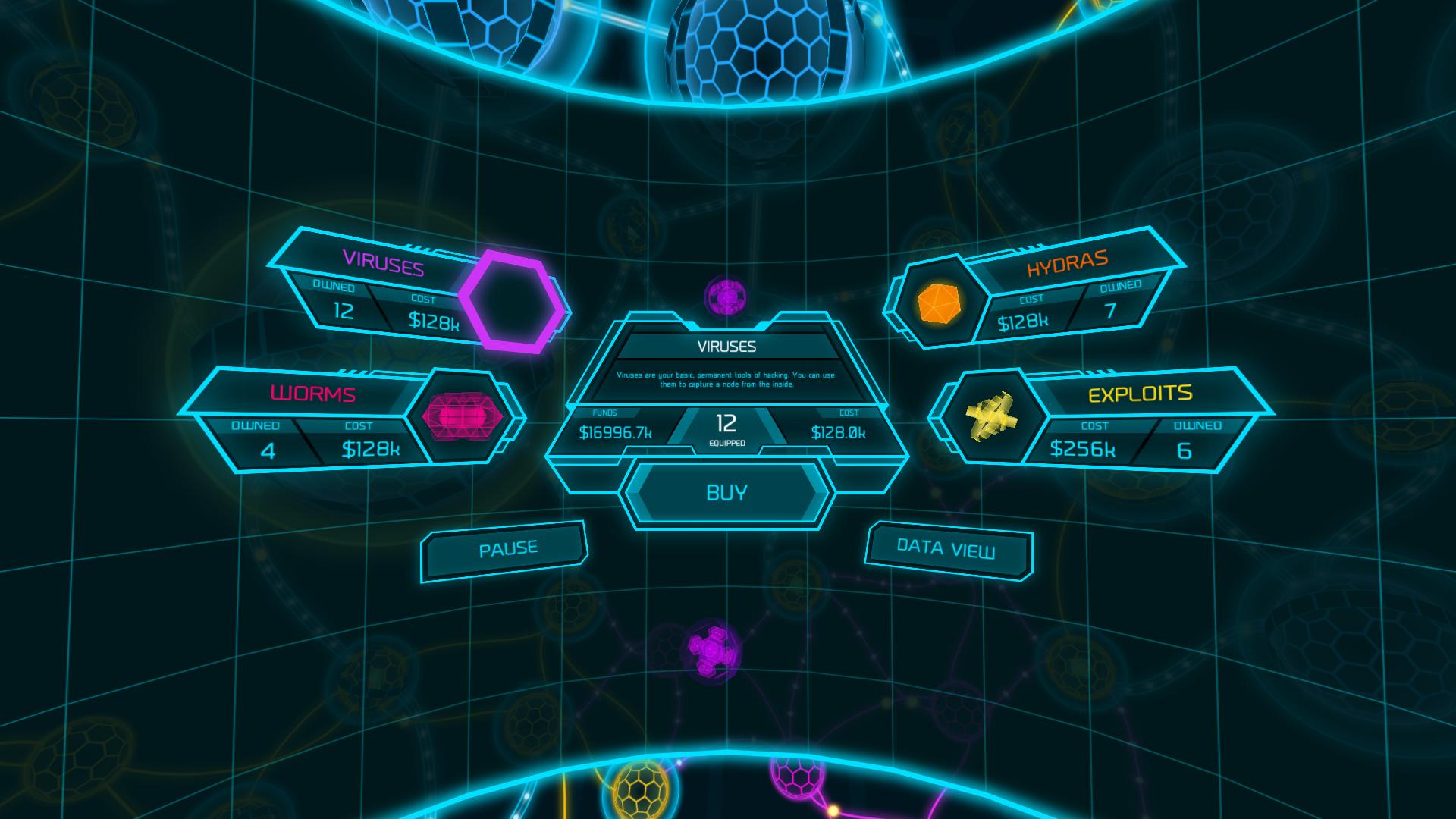 Image result for vr menus in game