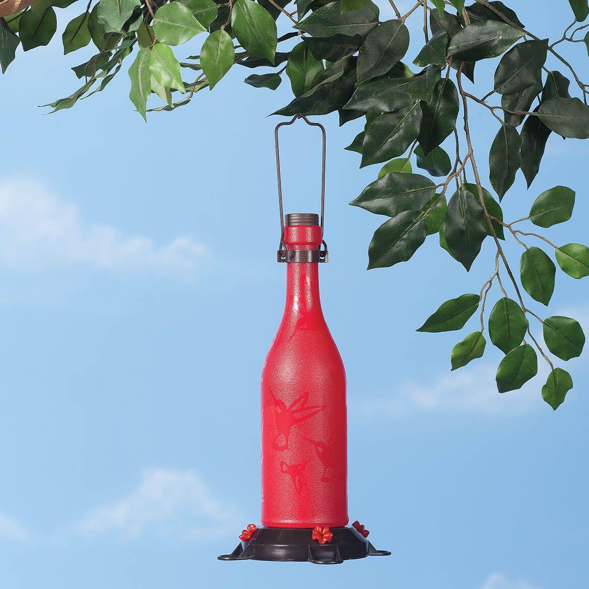 Plastic Wine Bottle Hummingbird Feeder363194 Plastic