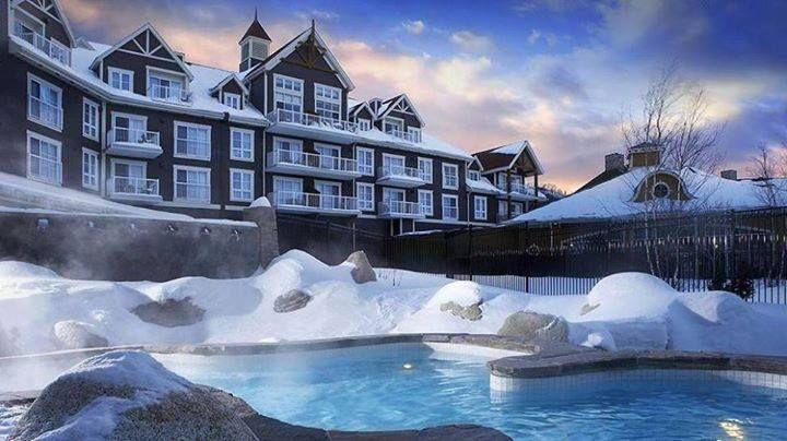 Alpes suizos lecrans spa hotel.