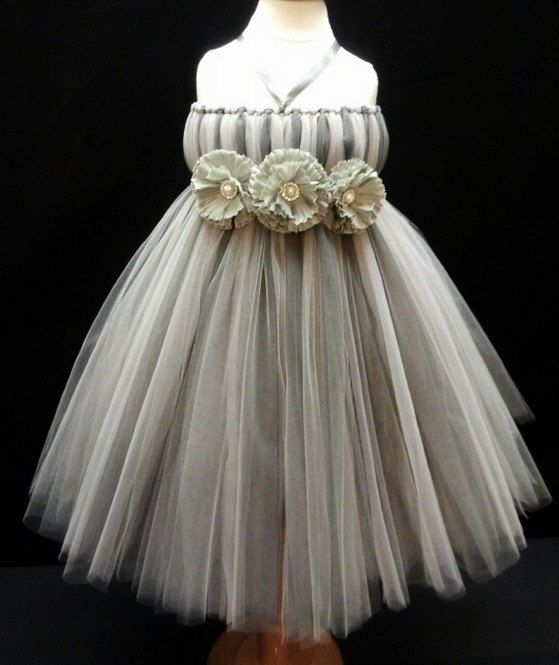 Tutu Dress, Flower Girl Dress- Flower Girls Dresses- Girls Tutu ...