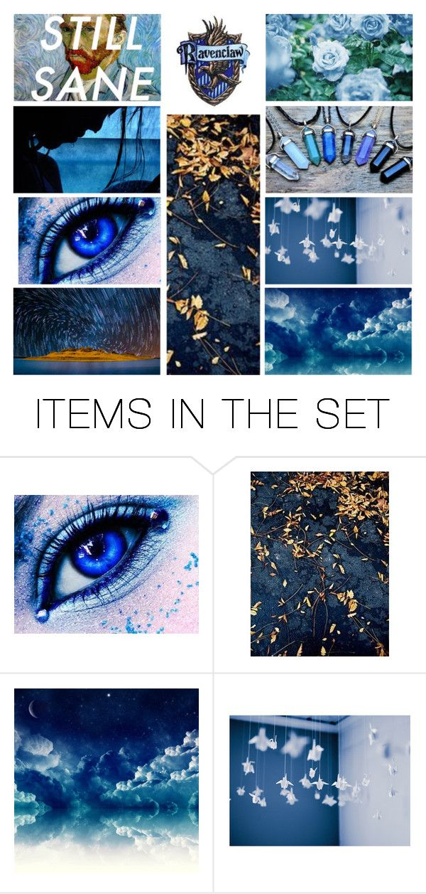 """Ravenclaw Aesthetic"" by transparentart ❤ liked on Polyvore featuring art"