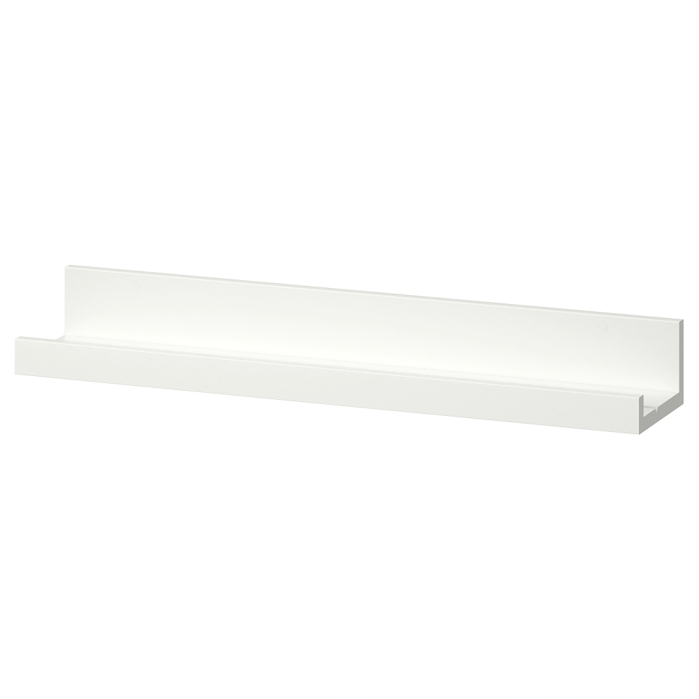 MOSSLANDA Picture ledge, white, 21 ¾