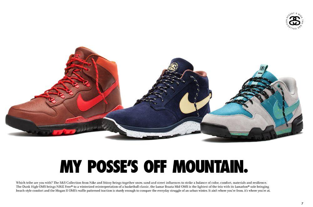 4cfd3ad9b17f Nike Stussy SNS Lookbook Pages6 7 14778 Stüssy x Nike  S S Off Mountain  Series Lookbook