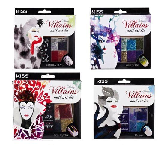 Disney Villains Beauty Collection | Nail art kit ...