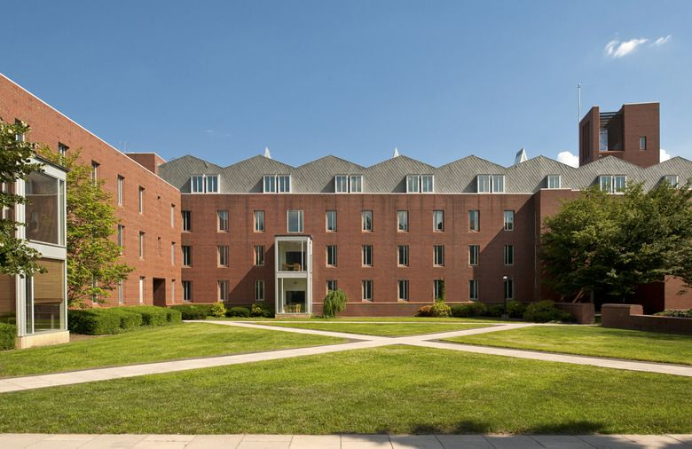 Scully Hall, Princeton University Machado Silvetti (With