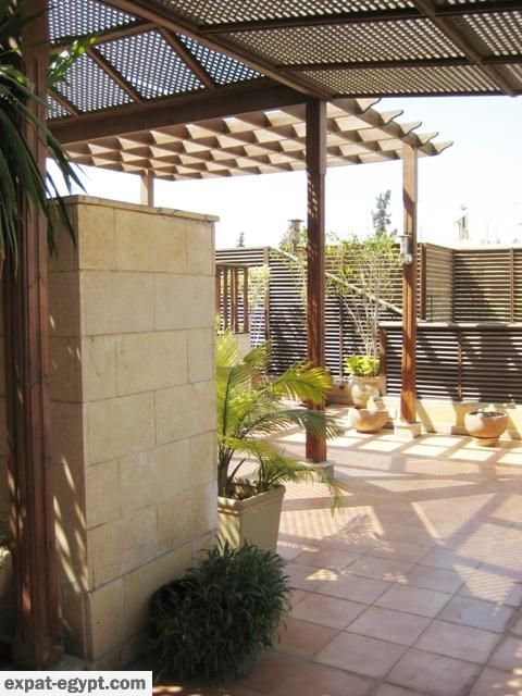 Modern Penthouse With Large Roof Terrace Pergola And Swimming Pool Chalets For Sale Pergola Roof Terrace