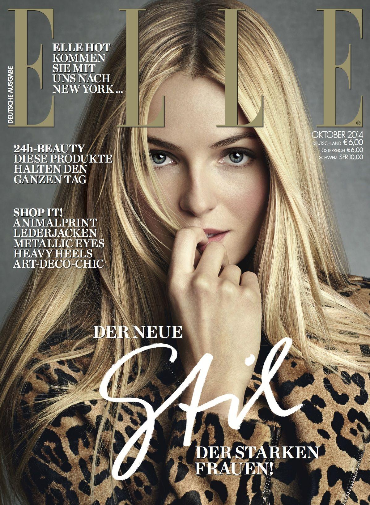 ELLE Cover Oktober 2014 – Valentina Zelyaeva