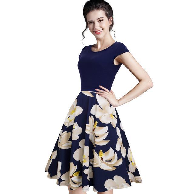 c8305fd759f5d Gender: Women Dresses Length: Knee-Length Brand Name: NICE-FOREVER ...