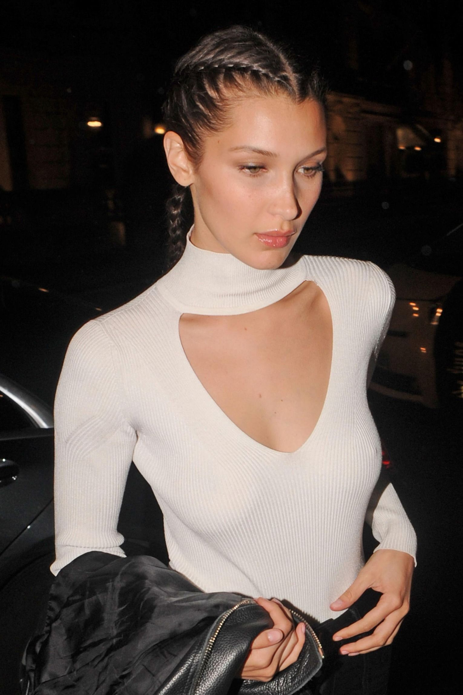 What Should I Do With My Hair? 11 Boring Hair Hacks From Celebs #bellahadid