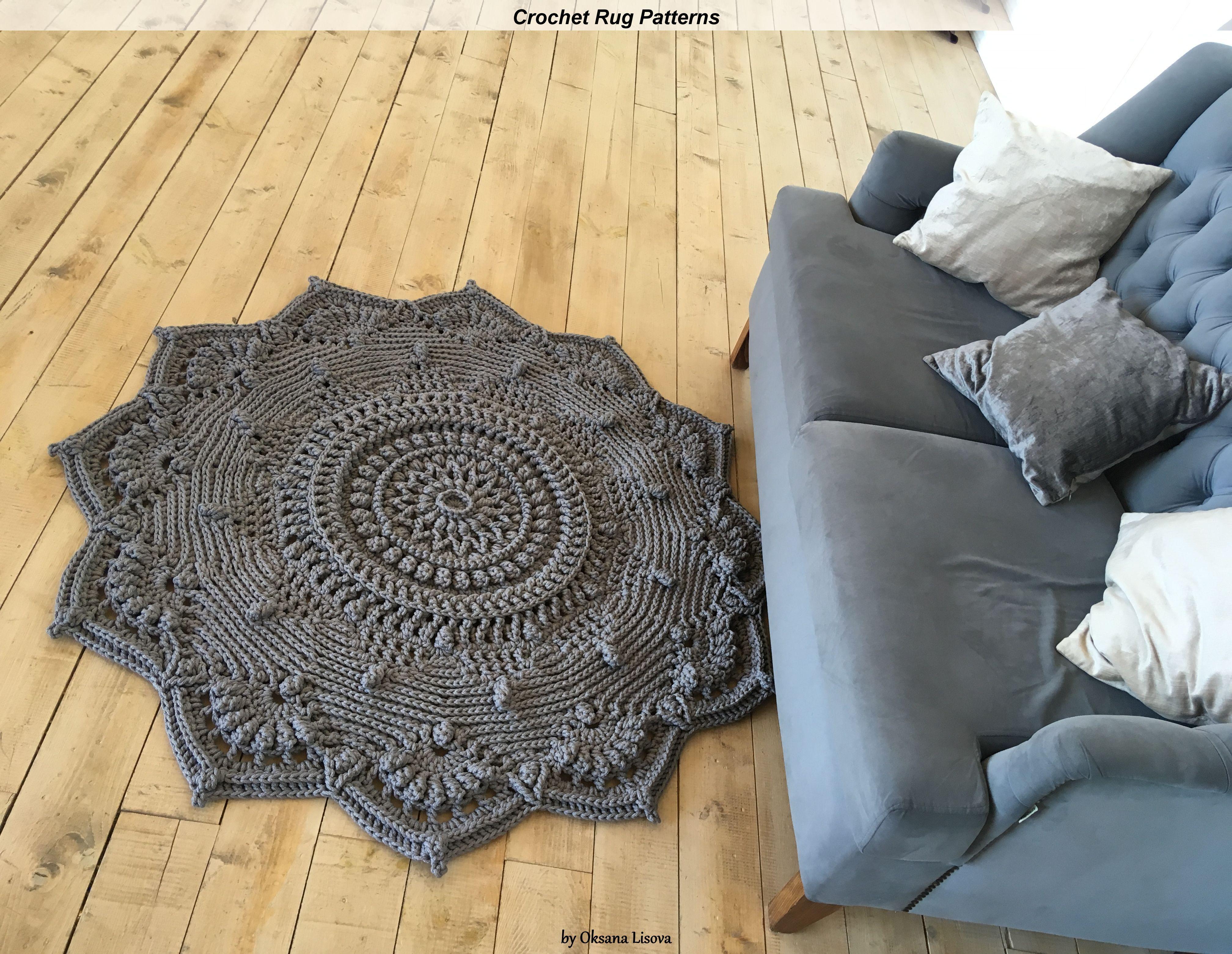 Written Instruction For Video Master Class Crochet Carpet Etsy In 2020 Crochet Carpet Crochet Rag Rug Crochet Rug Patterns