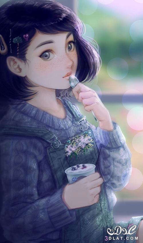 2018 انمى انمي بنات حديثة صور فتيات كيوت Art Girl Girly Art Anime Art Girl