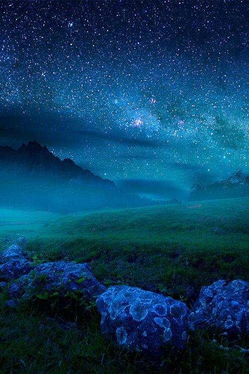cuando veo el cielo, las estrellas....me pregunto ¿qué es el hombre para que de el te acuerdes?.......