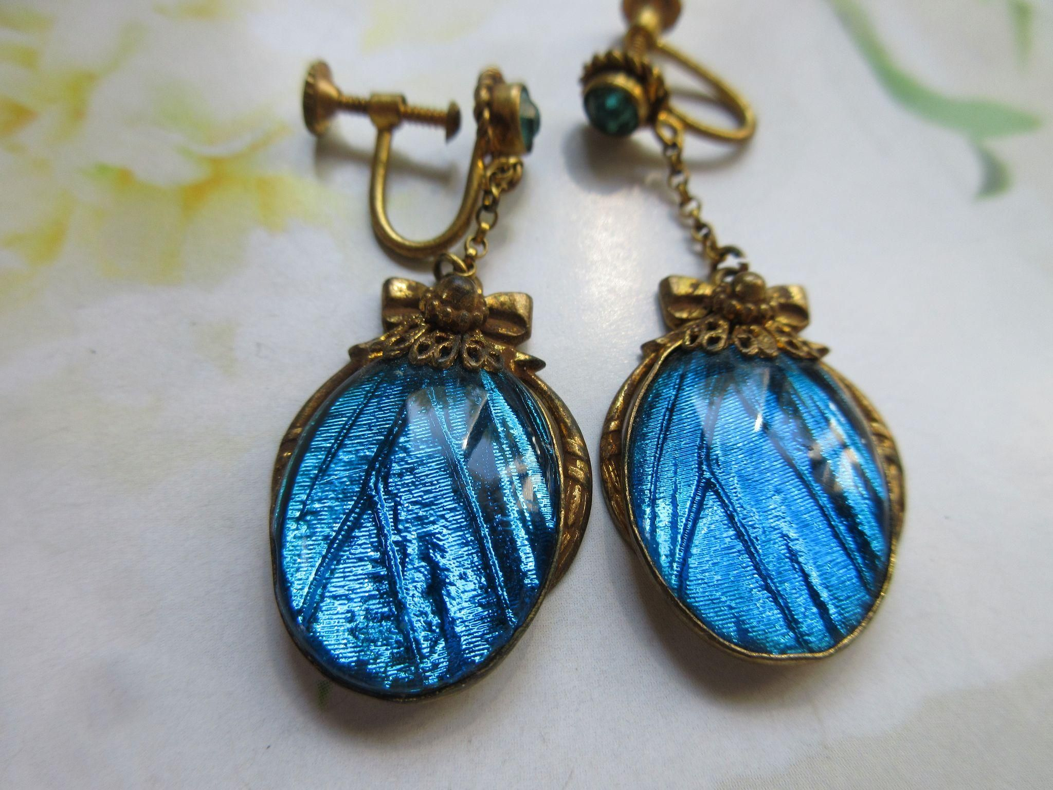 33+ Jewelry made from butterfly wings information