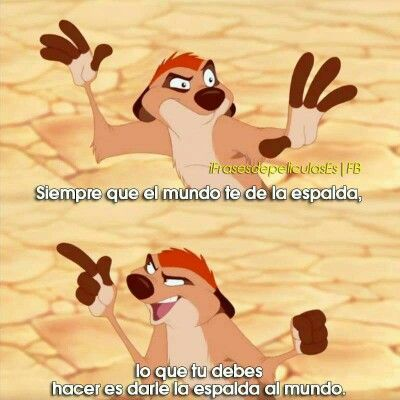 El Rey Leon Frases De Caricaturas Frases De Walt Disney Frases