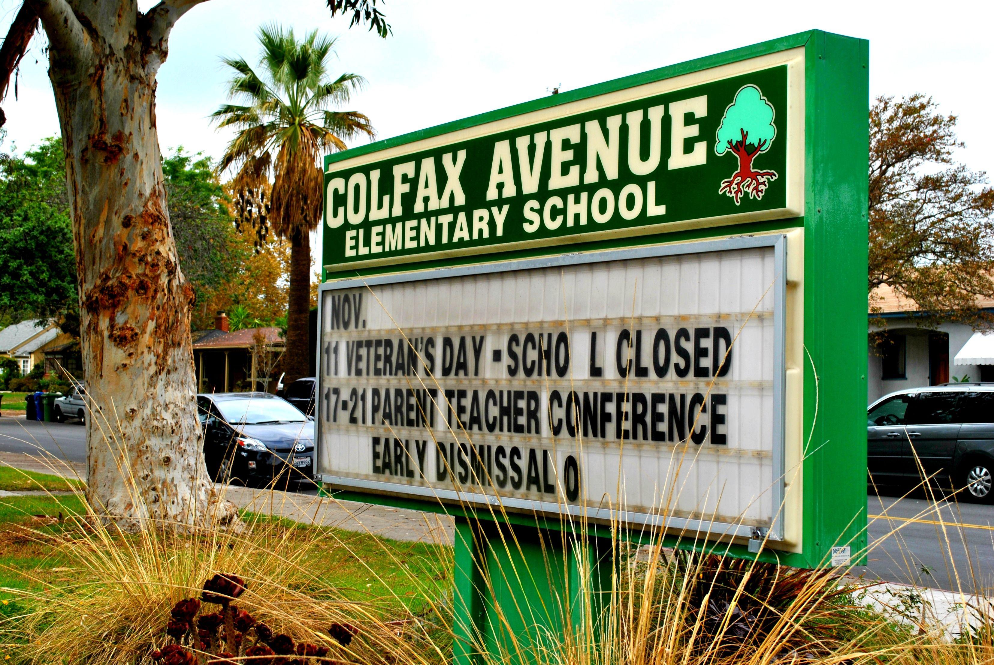 Colfax Elementary Valley village, Colfax, Elementary schools