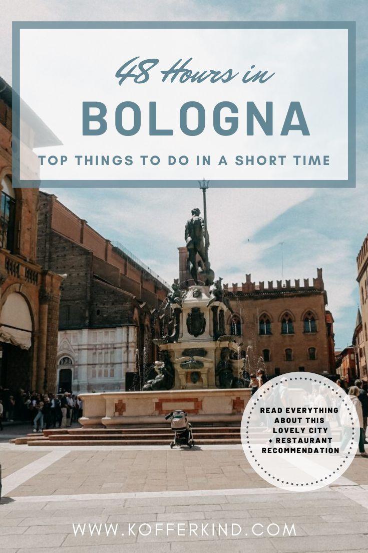 Auf der Suche nach den ultimativen Bologna Tipps? Dann schau mal auf meinem Blog vorbei und lass dich inspirieren. #kofferkind #travel #bologna  #reisebericht #reisetipps #reiseziele #italien #reiseblog