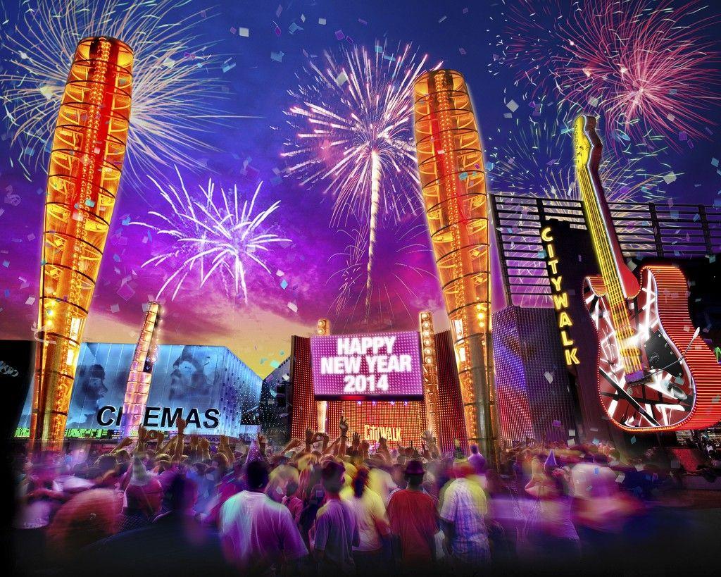 CityWalk NYE celebration New years eve events, Happy new