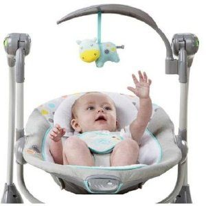 Robot Check Portable Baby Swing Baby Swings Rocker Chairs