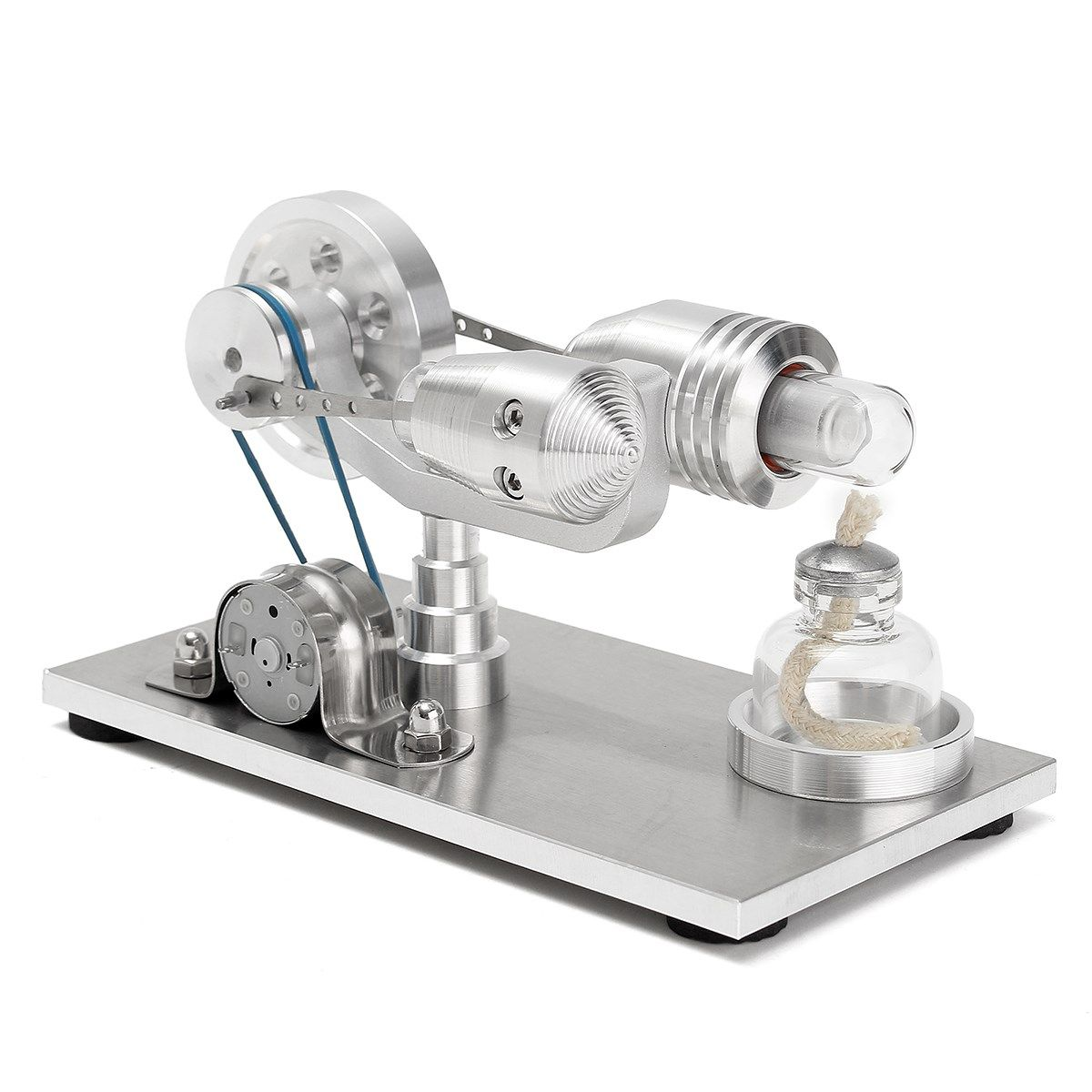 Cheap stirling engine motor, Buy Quality air stirling engine directly from China experiment kit Suppliers: New Arrival Stainless steel Mini Hot Air Stirling Engine Motor Model Educational Toy Science Experiment Kit Set For Chuldren