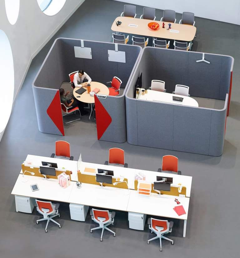 Acoustic pods for offices google search co working Shared office space design