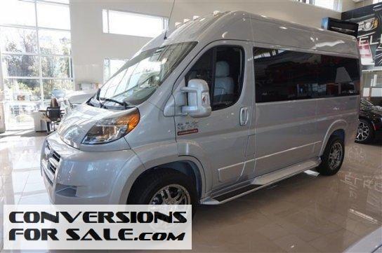 2015 Ram Promaster 1500 High Roof Sherrod Conversion Van Conversion Vans For Sale Van Conversion Van For Sale