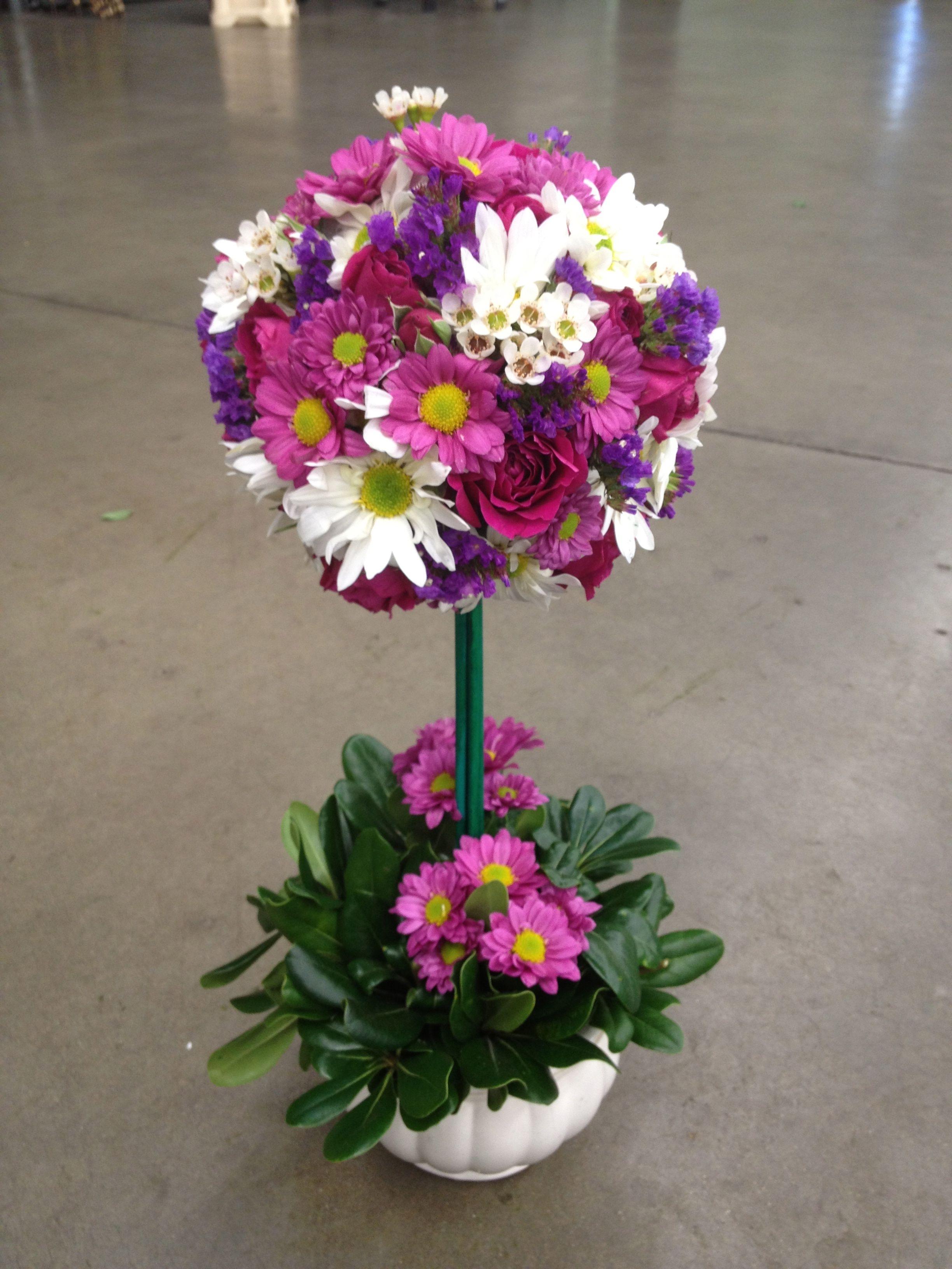 Flower Topiary 50