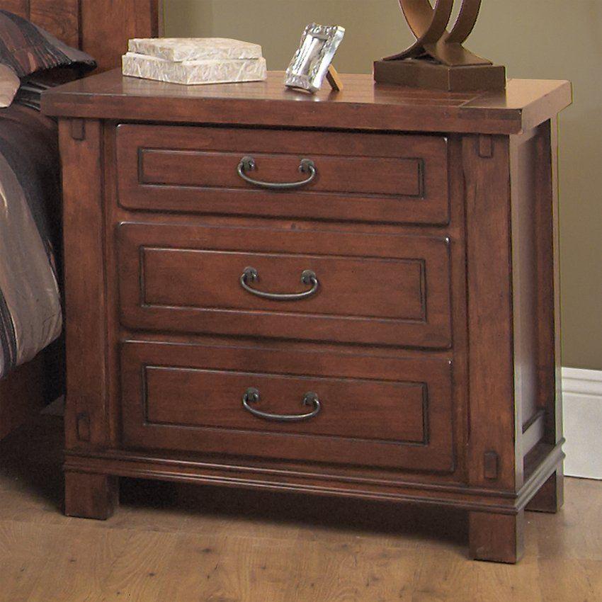 Amazing cherry wood dresser and nightstand | ThePlanMagazine.
