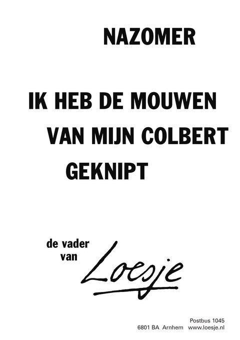 Loesje V D Posters On Twitter Niederlandische Zitate Geheim