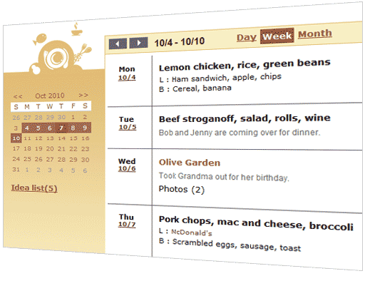 plan meals with ease easily decide what to eat with all your ideas
