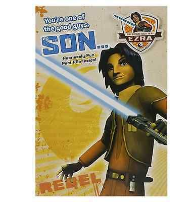 Star wars #rebels ezra bridger son #birthday card & #badge new gift,  View more on the LINK: 	http://www.zeppy.io/product/gb/2/131550023762/