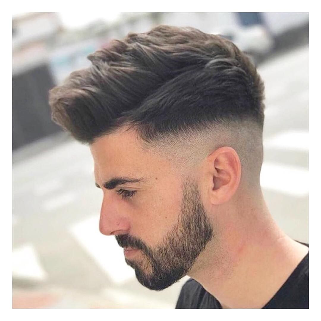 New] The 10 Best Hairstyles for Men (in the World) | Mens Hairstyle With  Curly Hair Short Medium Backside Wi… | Faded hair, Medium fade haircut, Mens  haircuts fade