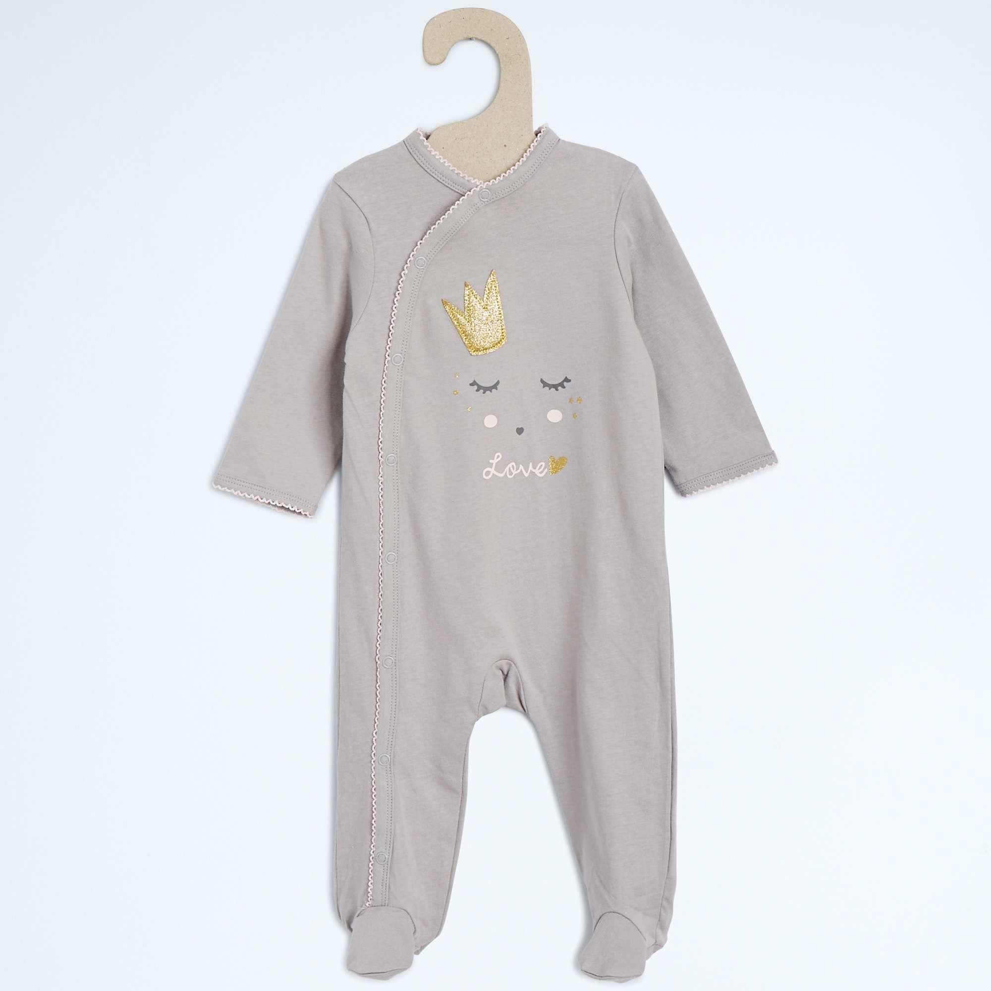7814c8c9ae9f9 Pyjama en coton Bébé fille - Kiabi - 9