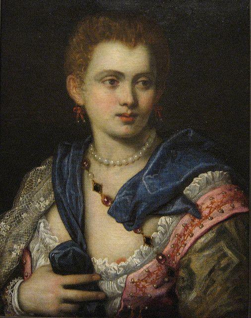 Portrait of a Lady (Veronica Franco?)   Andiamo a Venezia ...