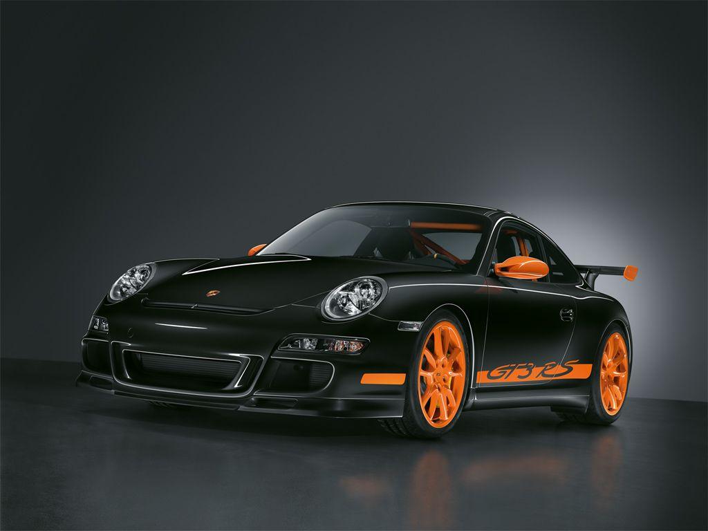 Ooh, look at the Beetle! It has orange stripes! | Cars | Porsche gt