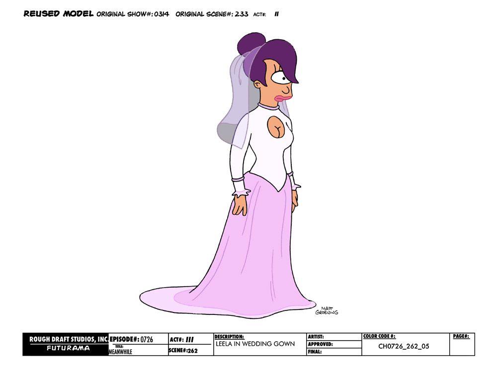 Futurama_Meanwhile_Leela_in_Wedding_Gown.jpg (1000×750)