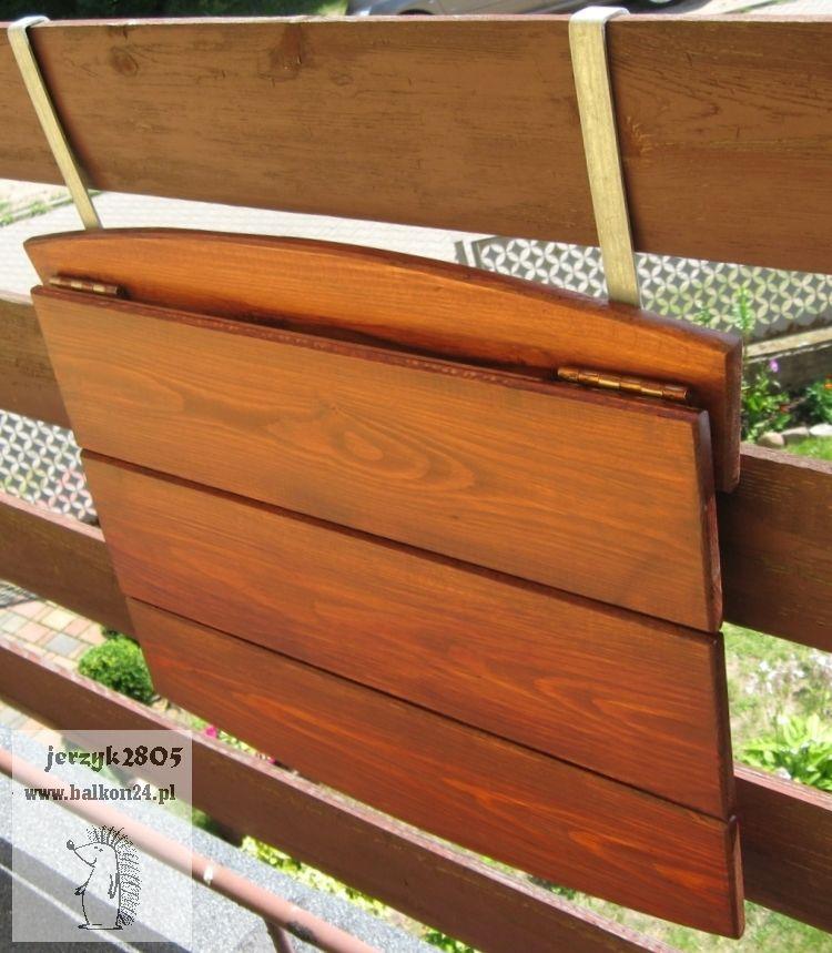 Stolik Balkonowy Składany 40 Uchwyty Balkon Diy Decor