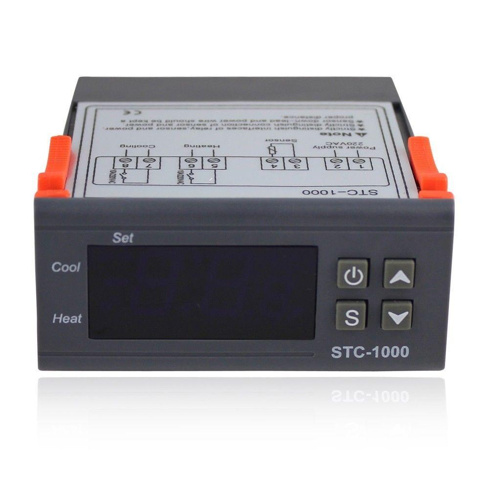 All Purpose Temperature Controller Stc 1000 With Sensor Pinterest Wiring Diagram Temp