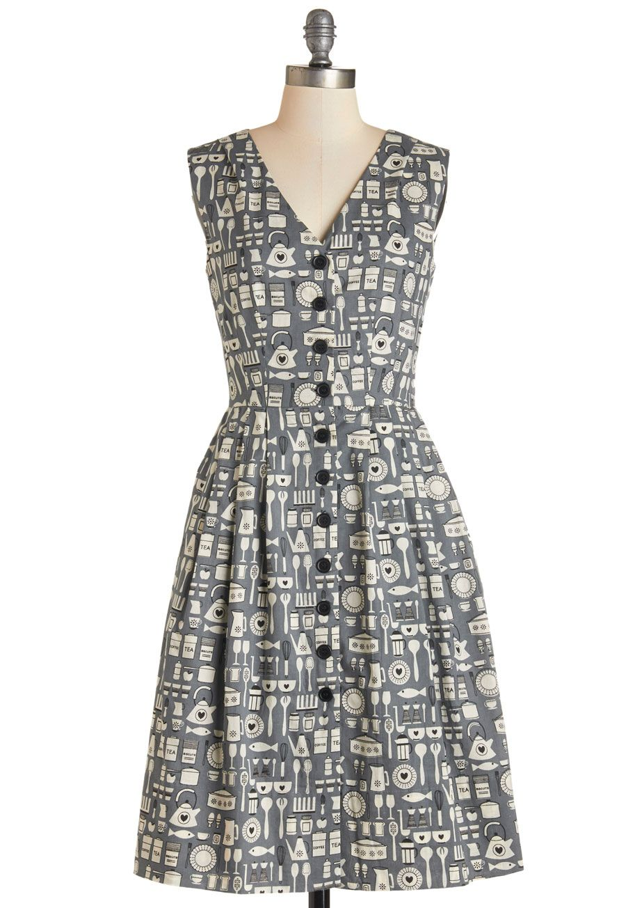 c0443eacfa Emily and Fin Give It Your Best Guest Dress in Kitchen | Mod Retro ...