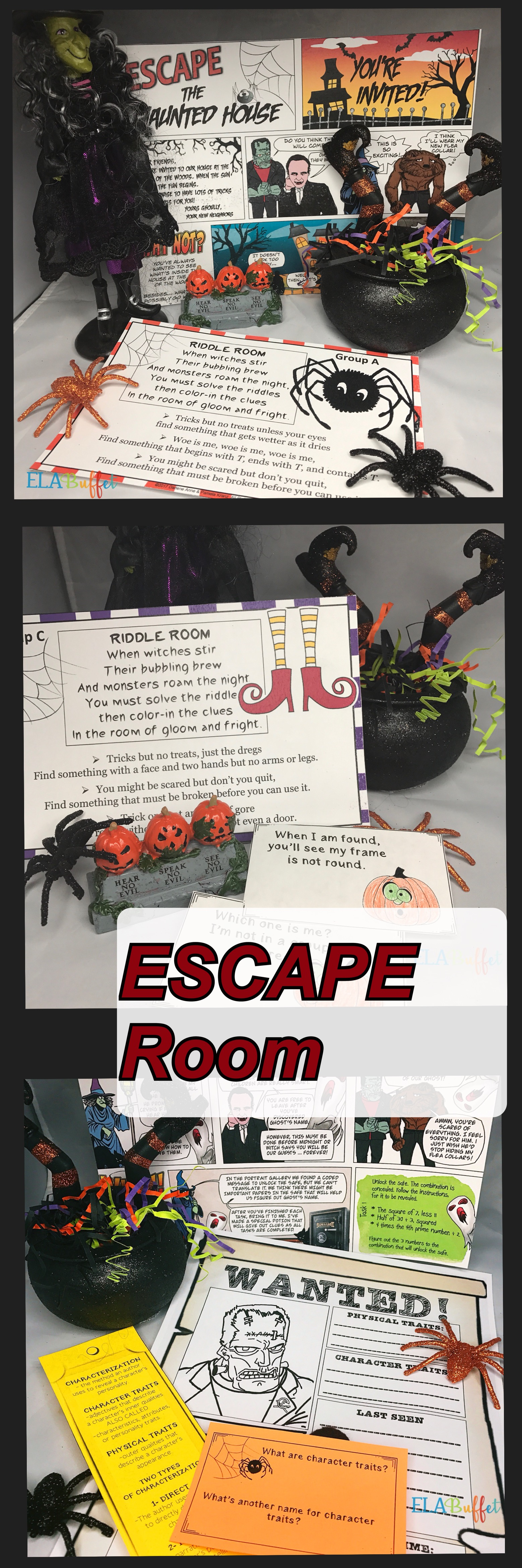 escape room halloween: escape the haunted house | ms hot off the