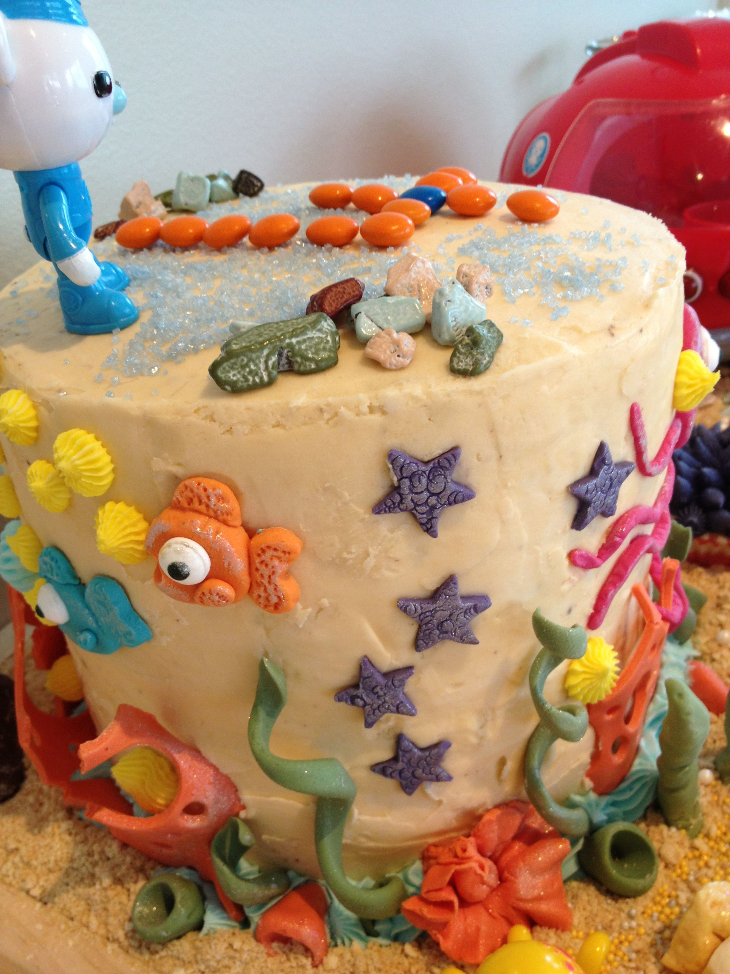 under the sea octonaut birthday cake cakes Pinterest Birthday